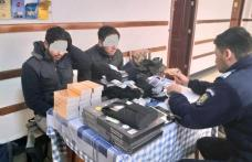 Comerț ambulant sancționat de jandarmii din Dorohoi - FOTO