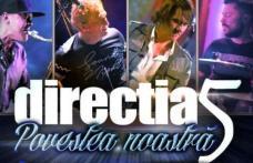 Directia 5, una dintre cele mai iubite trupe pop-rock va susține un concert la Sala Teatrului din Dorohoi