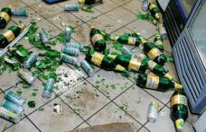 Scandal într-un bar. Un individ s-a ales cu amendă după ce a spart mai multe bunuri