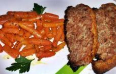 Ruladă de carne cu crustă de cașcaval