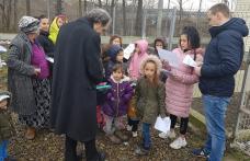 Campanie de informare și educaţie sanitară în cartierul Drochia din Dorohoi - FOTO