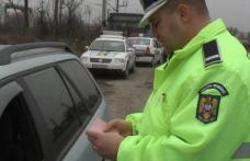 """Trei infracțiuni dintr-o lovitură: Beat """"mangă"""" și fără permis la volanul unei mașini neînmatriculate"""