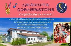 Ofertă educațională: Grădinița Cornerstone – O grădiniță cu inimă