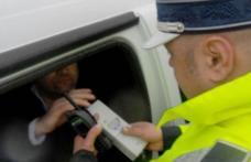 Șofer băut bine prins de polițiștii din Dorohoi în trafic