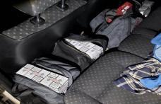 Volkswagen Passat încărcat cu ţigări de contrabandă, interceptat la Dorohoi - FOTO