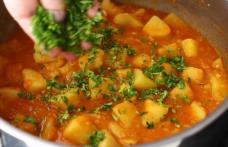 Mâncărică de cartofi cu piept de pui