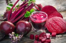 Beneficii pentru sănătate oferite de către sfecla roșie