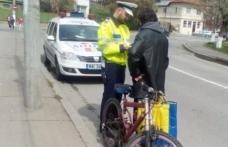 Şi bicicliştii sunt luaţi în vizor de poliţişti