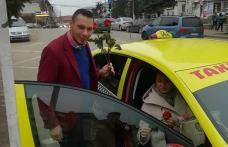 Taxi Speed Dorohoi: Flori și curse gratuite oferite de 8 Martie pentru toate doamnele și domnișoarele - FOTO