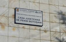 """Casa Județeană de Pensii Botoșani, face apel la botoșăneni și cere """"interacţiunea de la distanţă"""""""