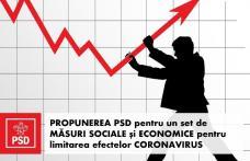 PSD propune un program de măsuri sociale și economice pentru limitarea efectelor coronavirus