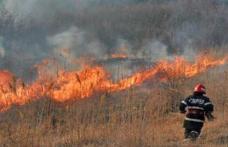 Șase incendii în ultimele 24 de ore