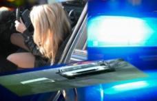 Pericol public! Tânără de 22 de ani, prinsă la volan deși avea permisul suspendat