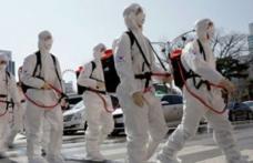 Primăria informează cetățenii că se începe acțiunea de dezinfecție în Piața Centrală din Municipiul Dorohoi