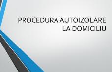 DAS Dorohoi: Vezi procedura de autoizolare la domiciliu