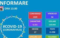 Comunicat: Încep să ajungă echipamentele medicale achiziționate de România! Numărul infectaților a ajuns la 1029