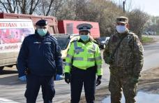Echipaje mixte de polițiști, jandarmi și polițiști locali au acționat pentru respectarea măsurilor dispuse prin Ordonanța Militară nr. 3 - FOTO