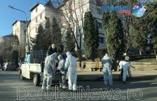 Primăria Dorohoi informează că a început acțiunea de dezinfectare a tuturor scărilor de bloc - FOTO