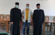 Preoții susțin Spitalul Municipal Dorohoi. Zece mii de lei donați pentru achiziționarea de echipament medical