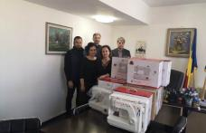Mașini de cusut donate Direcției de Protecție a Copilului Botoșani