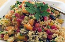 Salată de cuscus cu semințe de rodie