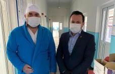 Om de afaceri botoșănean implicat în lupta cu Covid-19. Donații și către Spitalul Dorohoi - FOTO