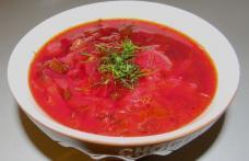 Borș moldovenesc cu sfeclă roșie