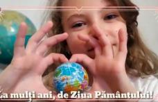 Ziua Pământului sărbătorită din izolare la Dorohoi - VIDEO