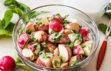 Salată de ridichi cu chefir