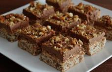 Prăjitură cu nucă și ness