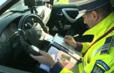 Un botoșănean cu permisul suspendat a fost prins conducând peste viteza legală