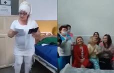 """Anchetă a poliției după """"Imnul COVID"""" cântat de cadre medicale și pacienți din Dorohoi și Botoșani - VIDEO"""