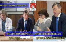 Primarul Comunei Ibănești Romică Magopeț - Respect și recunoștință eroilor în halate albe!