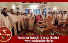 Seminarul Teologic Dorohoi anunță programul liturgic săptămânal care va fi transmis online