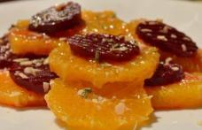 Salată de sfeclă roșie și portocale