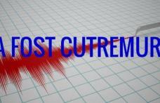 Cutremur de 4,1 grade, cu puțin timp în urmă, în România