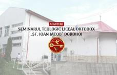 """Admitere 2020: Oferta educațională a Seminarului Teologic Liceal Ortodox """"Sf. Ioan Iacob"""" Dorohoi"""
