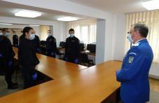 Zece elevi jandarmi aflați în practică la Jandarmeria Botoșani au depus Jurământul militar