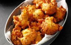 Gogoşi pufoase cu dovlecei şi brânză