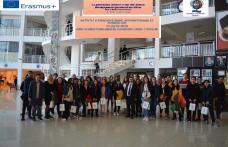 """Elevi ai Liceului """"Regina Maria"""" din Dorohoi în activități de învățare în Antalya, Turcia, prin proiectele Erasmus+ FOTO"""