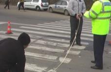 Accident la Dorohoi: Femeie spulberată pe trecerea de pietoni, de un şofer beat, care a fugit de la locul faptei