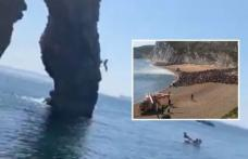 Român, rănit grav după ce a sărit în mare de pe o stâncă din Marea Britanie