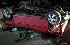 Accident în județul Botoșani. Se întorcea din Cehia și s-a răsturnat la 10 km de casă - FOTO