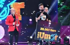Botoșăneanul Edi Vacariu, marele câștigător al sezonului 8 iUmor de la Antena 1