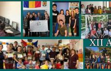 """Colegiul Național """"Grigore Ghica"""" Dorohoi - Gaudeamus Igitur! Gând absolvenților din generația 2016-2020 - FOTO"""