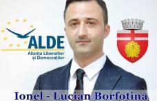 Lucian Borfotină, candidatul ALDE la Primăria Botoșani