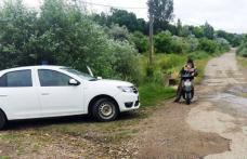 Depistat conducând un motoscuter, deși nu avea acest drept