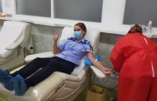 Jandarmii din Botoșani au donat sânge