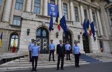 Jandarm din Botoșani premiat de ministrul Marcel Vela pentru servicii și fapte deosebite