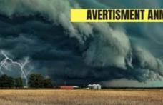 Alertă meteo ANM! S-a emis un cod galben de fenomene periculoase. Aproape toată România este vizată